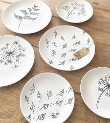 DIY - Mal på porcelæn www.frkgreve.dk minimalistic plates