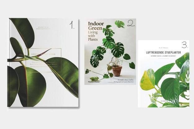 Dekorative bøger til boligindretningen - plantebøger www.frkgreve