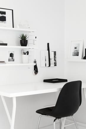 Minimalistisk kontor - www.frkgreve.dk